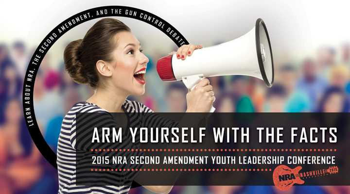 Inaugural Second Amendment Youth Leadership Conference Highlights NRA's Future Freedom Fighters